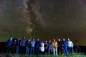 Öötaeva saladused - grupp välismaalasi meie öötaevast nautimas